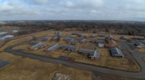 A Drone Flew High Above This Abandoned Ghost Town In Oklahoma And Caught This Truly Eerie Footage