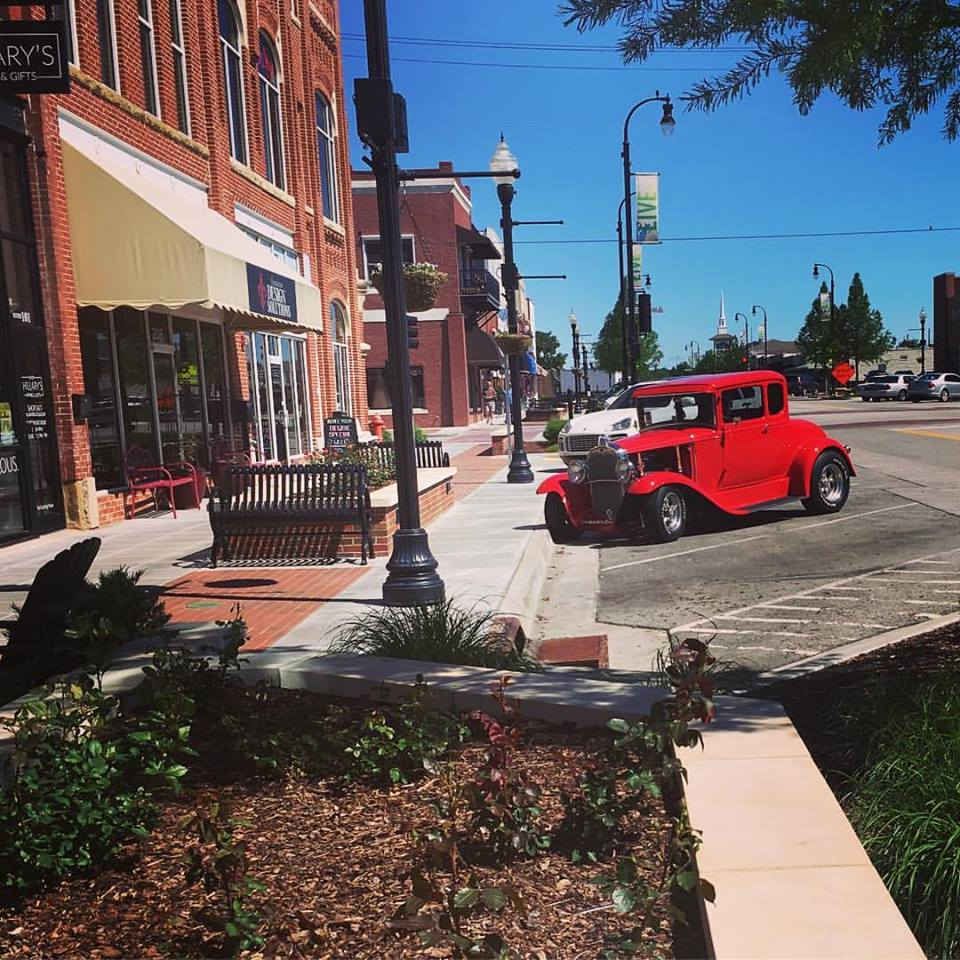 North Broken Arrow Ok Apartments: Rose District: The Charming Main Street In Oklahoma You'll