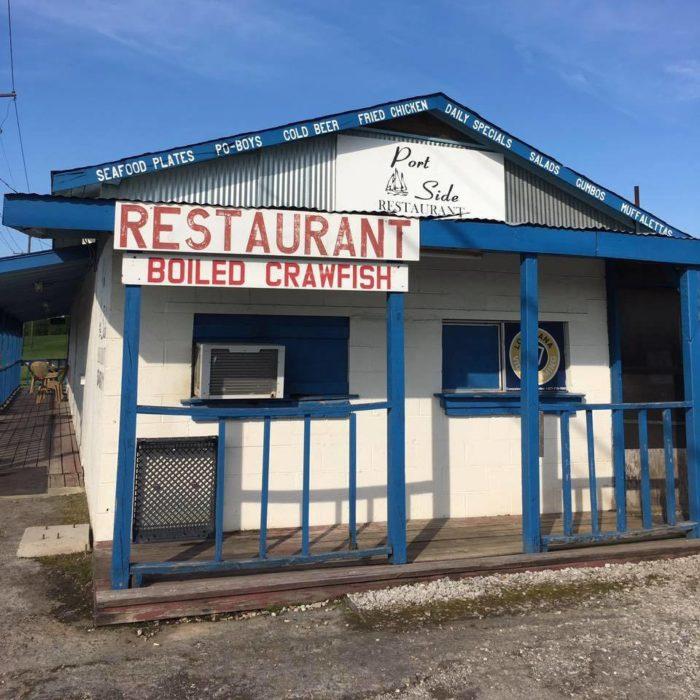Portside Restaurant Facebook