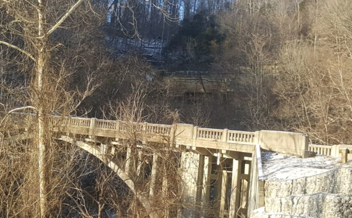 These 5 indiana hiking trails will lead you to gorgeous ruins - Clifty falls state park swimming pool ...