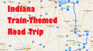 This Dreamy Train-Themed Trip Through Indiana Will Take You On The Journey Of A Lifetime