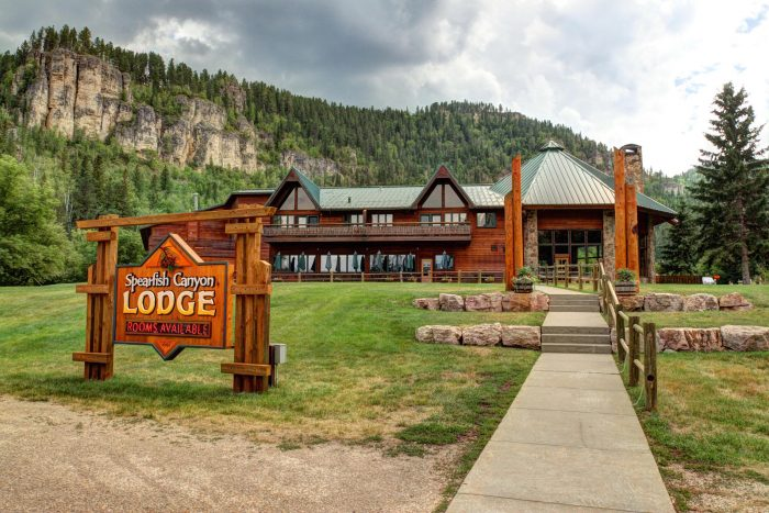 visit spearfish canyon lodge in south dakota for one last