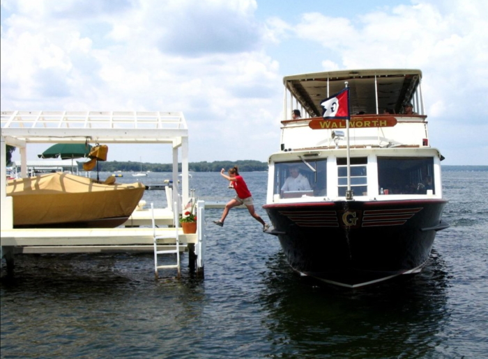 the lake geneva mailboat cruise is a one of a kind experience. Black Bedroom Furniture Sets. Home Design Ideas