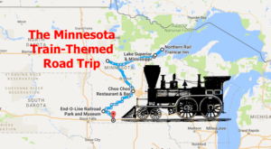 This Dreamy Train-Themed Trip Through Minnesota Will Take You On The Journey Of A Lifetime