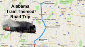 This Dreamy Train-Themed Trip Through Alabama Will Take You On The Journey Of A Lifetime