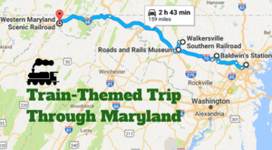 This Dreamy Train-Themed Trip Through Maryland Will Take You On The Journey Of A Lifetime