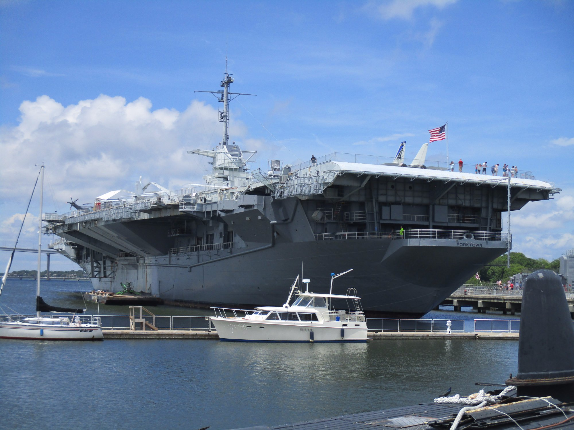 The USS Yorktown Is One Of The Most Haunted Places In ...