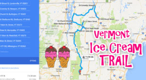 This Mouthwatering Ice Cream Trail In Vermont Is All You've Ever Dreamed Of And More