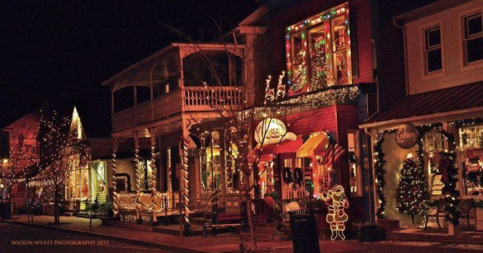 The Christmas Shop In Maryland Where It's Christmas Year Round - Michaels Christmas Lights