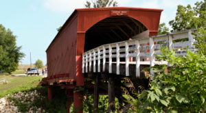 The Haunted Covered Bridge In Iowa That Will Give You Chills
