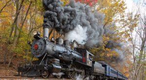 Take This Fall Foliage Train Ride Near Philadelphia For A One-Of-A-Kind Experience