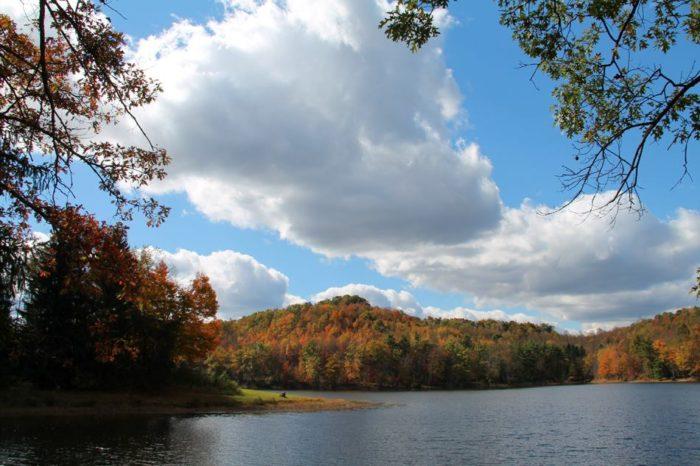 Fall Creek Motors >> Teter Creek Lake: The One Hikeable Lake In West Virginia ...