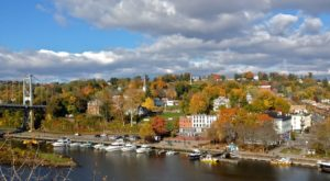 This Charming New York Town Is Picture Perfect For An Autumn Day Trip