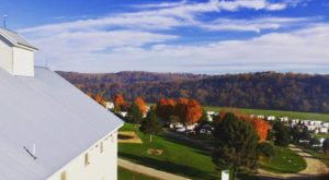 The Barn-Themed Resort In Rural Minnesota That Is Perfect For A Fall Getaway