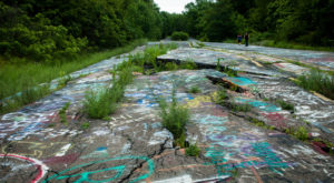 The Abandoned Town Near Philadelphia That Most People Stay Far, Far Away From