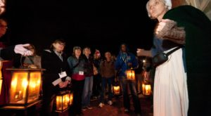 This Spooky Cemetery Lantern Tour In Delaware Will Send Chills Down Your Spine