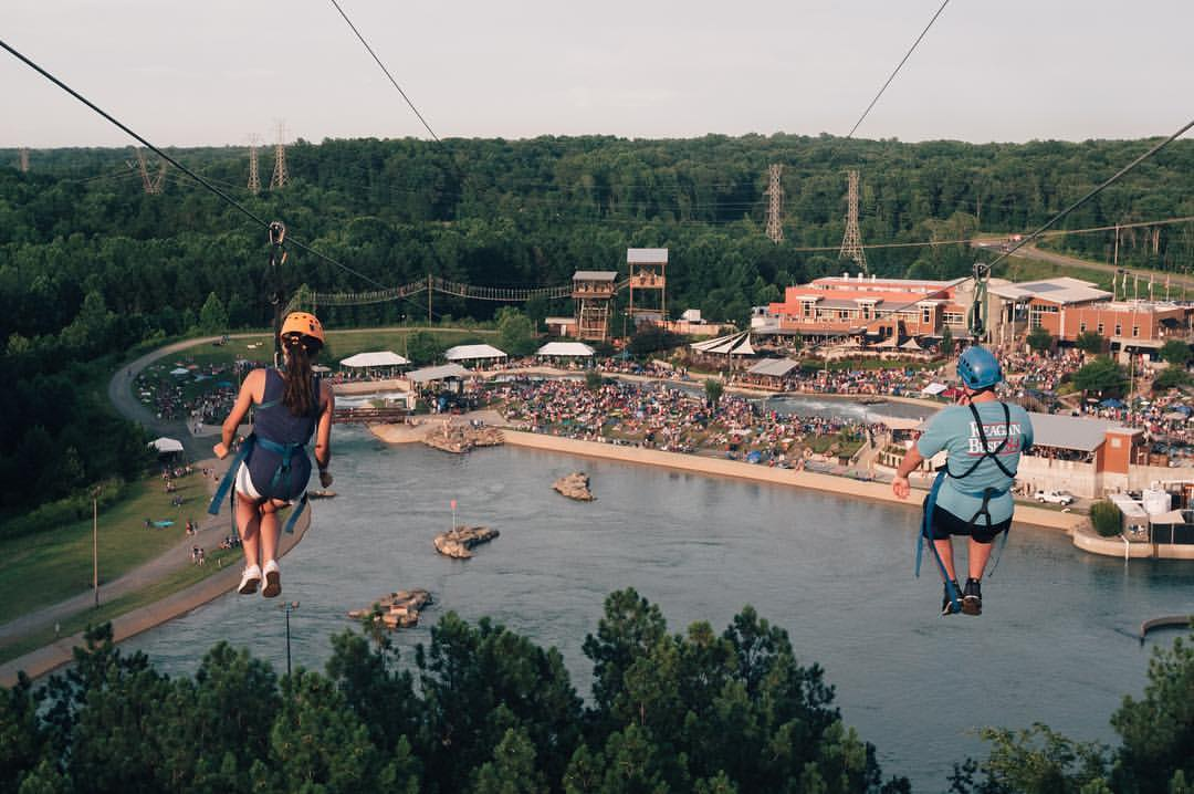 Hawk S Tower Is The Best Zipline In Charlotte