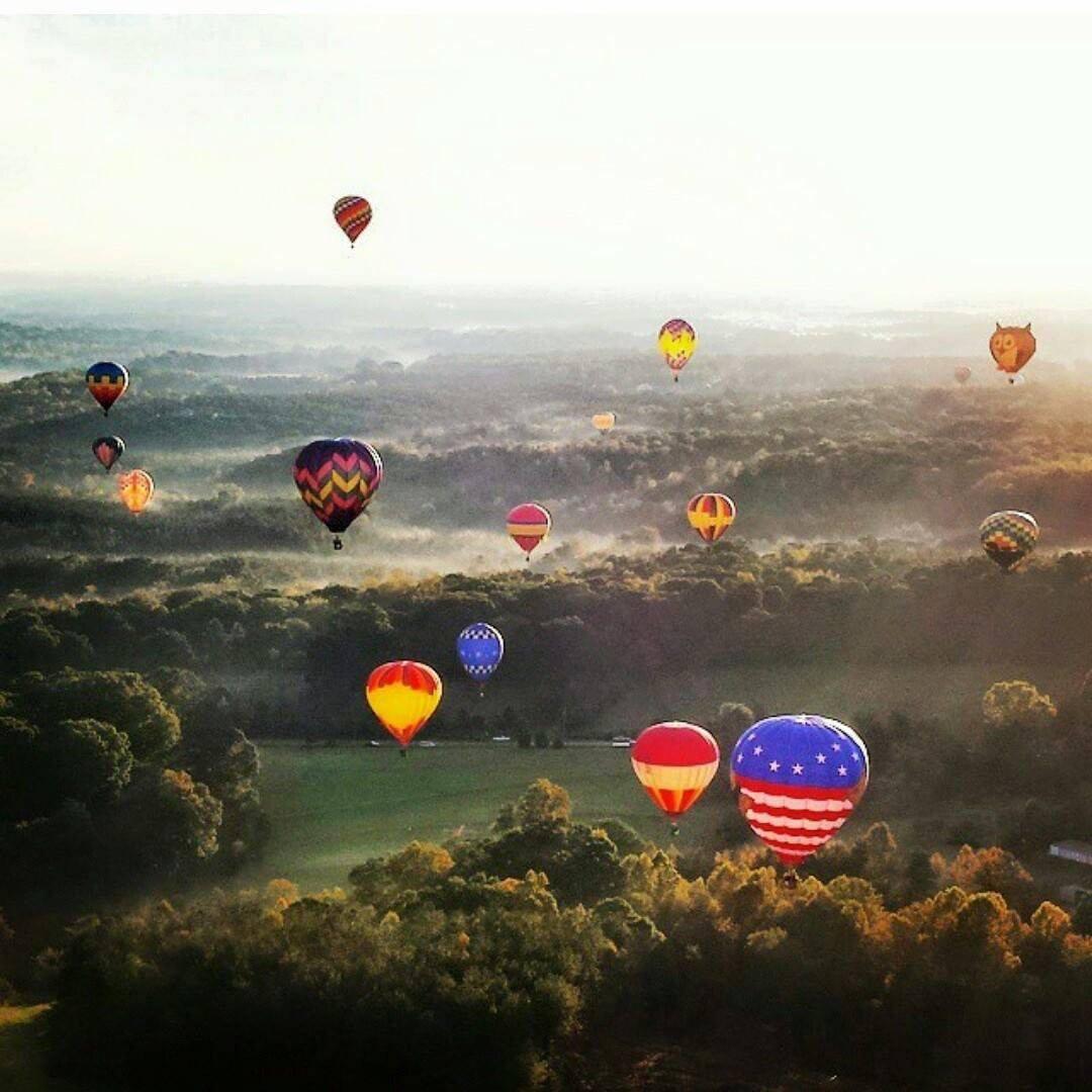Carolina Balloonfest In Statesville North Carolina 2017