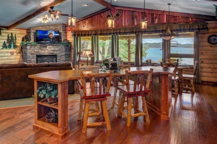Lake Shore Cabins On Beaver Lake Arkansas Are Jaw Dropping