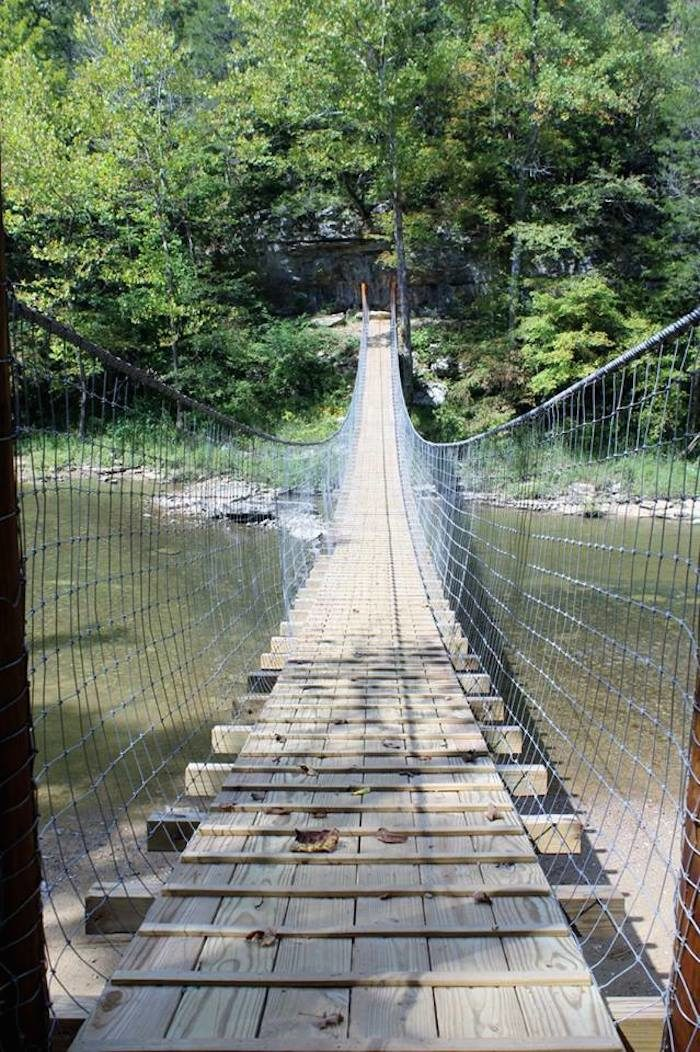 Florence alabama swinging bridge