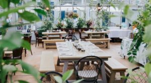 This Greenhouse Restaurant In Maryland Is The Most Enchanting Place To Eat