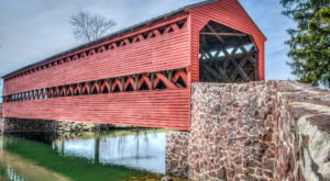 The Haunted Covered Bridge In Pennsylvania That Will Give You Chills