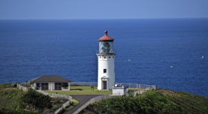The Charming Hawaii Lighthouse That's Located In The Most Magical Setting