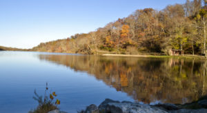The One Hikeable Lake In Arkansas That's Simply Breathtaking In The Fall