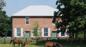 Spend The Night In Horse Country In This Charming Former Train Station In Kentucky