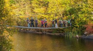 This Canopy Tour In New Jersey Is The Perfect Way To See The Fall Colors Like Never Before