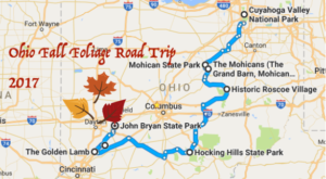 This Dreamy Road Trip Will Take You To The Best Fall Foliage In All Of Ohio
