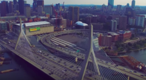 Someone Flew A Drone High Above Boston And Captured The Most Breathtaking Footage