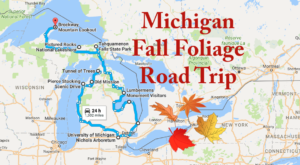 This Dreamy Road Trip Will Take You To The Best Fall Foliage In All Of Michigan