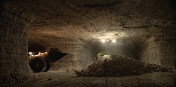 The Whiskey Island Salt Mine In Ohio Underneath Lake Erie - Lake erie salt mines