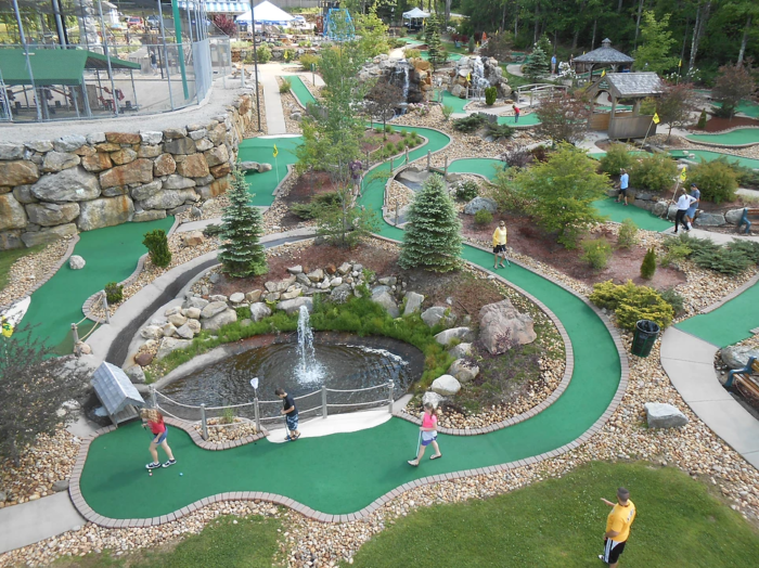 These Are The Best 9 Mini Golf Courses In New Hampshire