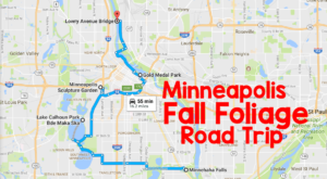 This Dreamy Road Trip Will Take You To The Best Fall Foliage In All Of Minneapolis