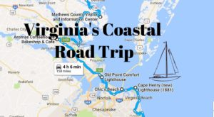 This 150-Mile Drive Is The Best Way To See Virginia's Stunning Coast