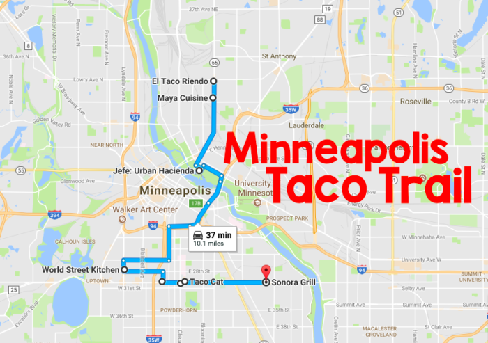 The Ultimate Taco Trail Through Minneapolis