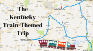 This Dreamy Train-Themed Trip Through Kentucky Will Take You On The Journey Of A Lifetime