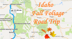 This Dreamy Road Trip Will Take You To The Best Fall Foliage In All Of Idaho