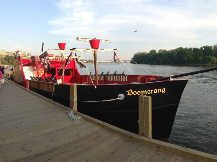 boomerang pirate ship in washington dc