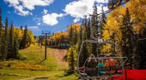 Take This Fall Foliage Chairlift Ride In New Mexico For An Unforgettable Autumn Adventure