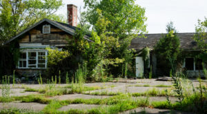 The Remnants Of This Abandoned Neighborhood Near Lousville Are Hauntingly Beautiful