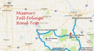 This Dreamy Road Trip Will Take You To The Best Fall Foliage In All Of Missouri