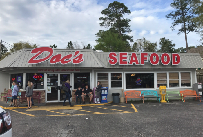 Doc S Seafood Shack Oyster Bar Orange Beach