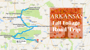 This Dreamy Road Trip Will Take You To The Best Fall Foliage In All Of Arkansas