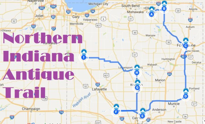 The Best Antique Road Trip Through Northern Indiana