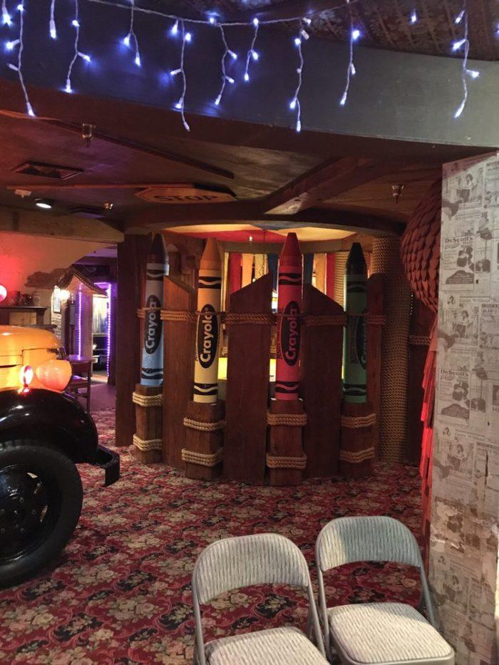 Pac Man Machine >> Magic Time Machine Is Most Whimsical Restaurant In Dallas ...