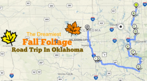 This Dreamy Road Trip Will Take You To The Best Fall Foliage In All Of Oklahoma