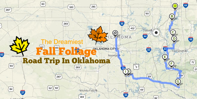 This Dreamy Road Trip Will Take You To The Best Fall